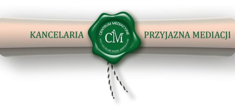 """Nasza kancelaria uzyskała tytuł """"Kancelarii Przyjaznej Mediacjom""""."""