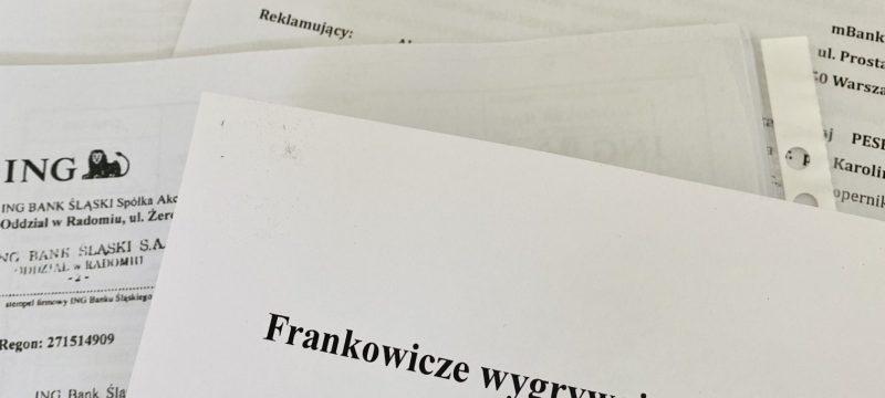Frankowicze wygrywają w sądach